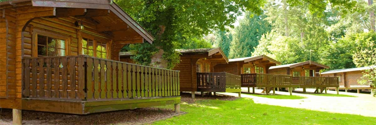 Cabin And Lodge Holidays On A Self Catering Basis At Whitemead Forest Park Forest Of Dean