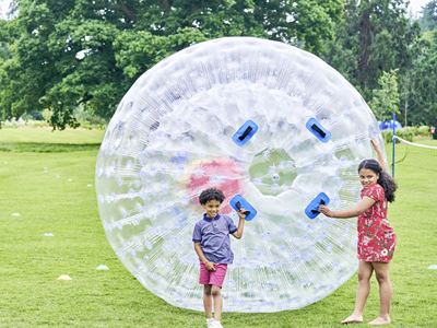 Go Steady - Field Zorbing