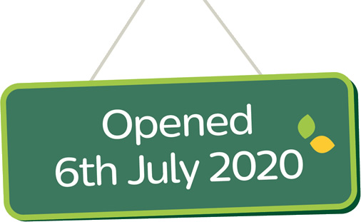 opened 6th July 2020
